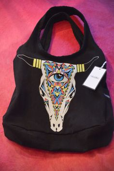 Lauren Moshi Tote in black/multi