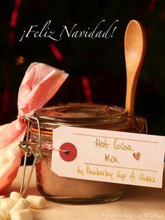 Homemade Hot Cocoa Mix {Preparado Casero de Cacao Caliente}