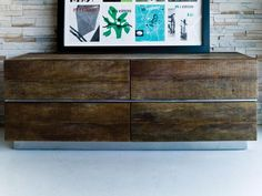Beam-4 Drawer Dresser by Environment Furniture