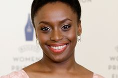 """Chimamanda Ngozi Adichie says, """"moralising make-up"""" is not the answer to the world's problems."""