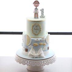 Baby Birthday Cakes, Baby Boy Cakes, Baby Shower Cakes, Fondant Baby, Fondant Cakes, Fake Cake, Pastry Art, Cakes For Boys, Sugar Art