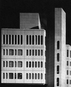 Metal Box Head Office building Reading, Berkshire, England, UK; 1972-75 (demolished, 2014)  Llewelyn-Davies, Weeks, Forestier-Walker & Bor, architects Ove Arup & Partners, engineers; John St. Bodfan Gruffydd, landscape architect