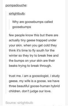 Thank you, Science side of Tumblr. I don't know why this is so funny