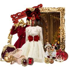 Nice Disney Style Dresses Style- Victorian Christmas Minnie... Check more at http://shop24.ga/fashion/disney-style-dresses-style-victorian-christmas-minnie/