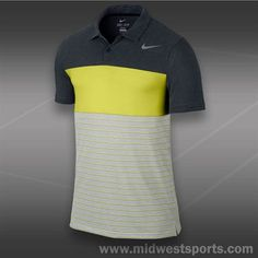 Nike Dri Fit Touch Stripe Polo- Black Tennis Shirts, Tennis Clothes, Nike Dri Fit, Nike Men, Polo Ralph Lauren, Touch, Fitness, Mens Tops, Shopping