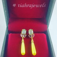 """58 Likes, 2 Comments - TIAHRA Jewelry (@tiahramadrid) on Instagram: """"Happy to have our Celestine earrings once again available at www.tiahra.com #limitededition…"""""""