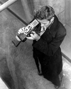 James Dean - camera