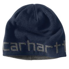 376a8dc351d Carhartt Mens Greenfield Reversible Hat 100137 Navy Army Hat