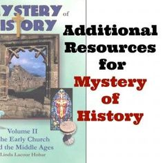 Free and frugal additional resources to easily implement. Mystery of History Volume 2 #MOHII0