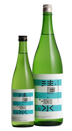 清泉 大吟醸 生貯蔵酒 sake PD Milk Packaging, Beverage Packaging, Bottle Packaging, Brand Packaging, Packaging Design, Sake Wine, Wine Bottle Design, Sake Bottle, Japanese Sake
