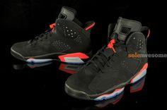 """Air Jordan VI (6) """"Black Infrared"""" New Images"""