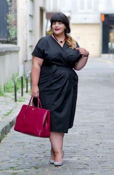 Curvy Friends – Plus size photos, plus size fashion and plus size tips Plus Size Tips, Looks Plus Size, Look Plus, Plus Size Black Dresses, Plus Size Skirts, Plus Size Outfits, Xl Mode, Moda Xl, Plus Size Inspiration