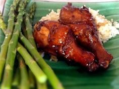 Sticky Glazed Chicken: (GAPS legal) So simple and yet very impressive. This chicken has an all over flavorful Asian-flair sticky glaze on it that you'll love to lick off of your fingers. Transform a few simple ingredients into a new family favorite. This is one of the first dinner recipes that I am teaching my 7 year old daughter to prepare. Seriously, try it.