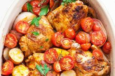 One-Pan Paprika Chicken and Potatoes | SimplyRecipes.com