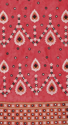 I think this could be a lovely skirt or the ceiling of a church Indian Patterns, Textile Patterns, Textile Prints, Textile Design, Print Patterns, Sewing Patterns, Embroidery Motifs, Indian Embroidery, Hand Embroidery Designs