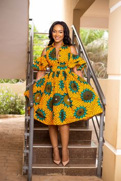 """Today we bring to you """"Pleasing Ankara Gowns to Copy."""" These Ankara gowns are unique and they are pleasing. They are so pretty and lovely. Check them out and have blissful day ahead. African Fashion Ankara, African Fashion Designers, Latest African Fashion Dresses, African Print Fashion, African Prints, Ghanaian Fashion, African Fabric, African Inspired Fashion, Tribal Fashion"""