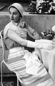 Henry Clarke, Vogue 1953