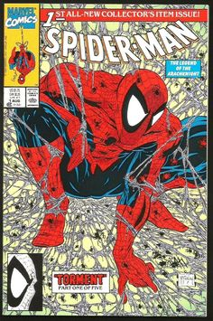SPIDER-MAN #1 GREEN /PURPLE version 10 Copies VF+/NM- High Grade McFarlane 1990
