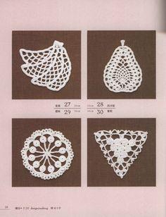 Вязаные аппликации (вязание крючком) :: Crochet and Knitting
