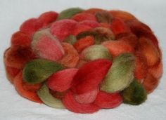 Shetland Fiber Hand Painted roving 125g by YummyYarnsUK on Etsy, 9.25 #Repin By:Pinterest++ for iPad#
