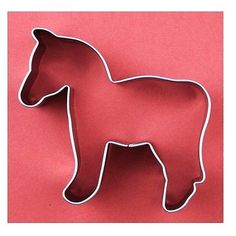 New horse style cookie cutter mold mould shape steel cake christmas fondant