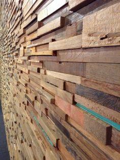 ReWood® houtstrips Utopia. nieuwe soort houtstrips . panelen 120x20 ...
