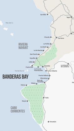 Banderas Bay regions puerto vallarta Pinterest Road trips