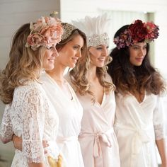 Homebodii robes bride and bridesmaid robes www.homebodii.com