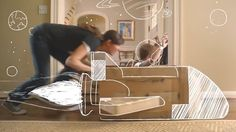 Sittercity is America's most trusted online solution for connecting families with high-quality, experienced sitters and nannies.  Hero4Hire storyboarded, designed, animated, and composited these spots.