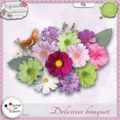 Delicieux bouquet CU by Tigroune {Exclu SFF}