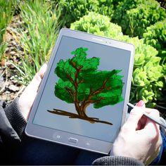 Inspirate y dejá que tu creatividad haga el resto con la Tab A4 de Samsung. Ideal para viajes o para los que les gusta el diseño. ¡Disponible en Frávega! #VidaTechie #Tecnología #Tablet