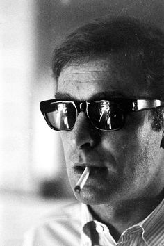Michael Caine, photographed by Billy Ray, 1966.
