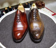 Lloyd Footwear / Cheaney 忙しくてサボりがちだったのでまとめて磨いてます #lloydfootwear #cheaney #cheaney130 #shoes #mensshoes #shoecare #ロイドフットウェア #チーニー #紳士靴 #革靴 #靴磨き #シューケア