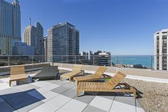 roof top sky lounge at Gold Coast City Apartments