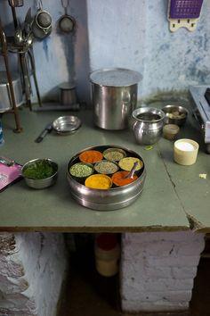 Kitchen Spice Box