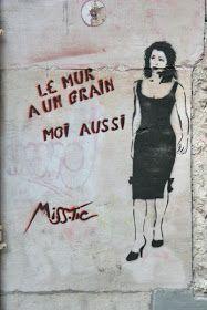 Arts: Street art-Miss. Street Art Banksy, Tag Street Art, Urban Street Art, Street Signs, Street Art Artiste, Photographie Street Art, Street Art Photography, Graffiti Artwork, Human Art