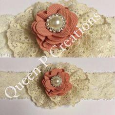 Baby girl handmade headband!
