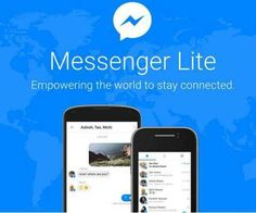 "Facebook Messenger today rolled out the ""lite"" version of its  app – Messenger Lite - in India, in its bid to reach people in emerging markets where mobile internet connections are slow.   #Facebook #Facebook lite #Facebook Messenger Lite"
