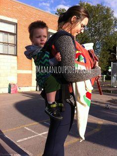 Tips for Tandem Babywearing #INTLBabyWearingWeek (Teach me Tuesday)