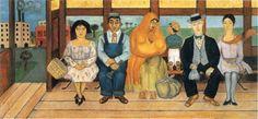 El camión  (The bus) by Frida Kahlo, 1929.