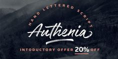 Authenia (50% discount, from 11,50€)   https://fontsdiscounts.com/authenia-20-discount-1999e?utm_content=buffer62130&utm_medium=social&utm_source=pinterest.com&utm_campaign=buffer
