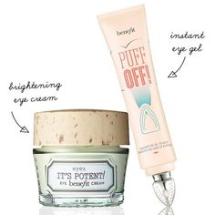 Prepare to be eye-mazed! This power duo fights dark circles & hides under eye bags & fine lines! #benefitbeauty
