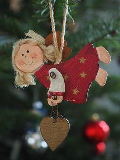 Christmas Makes, Christmas Mood, Christmas Signs, Christmas Angels, Christmas Decorations, Christmas Ornaments, Holiday Crafts, Holiday Decor, Puppet Crafts