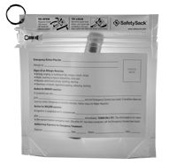 Allergy safety sack - put your epi-pen and benadryl in this child proof bag with action plan on front and send it along to play dates.