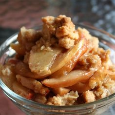"""Apple Crisp III """"Oh my gosh, this is delicious! I have never had such a delicious apple crisp!"""""""