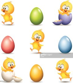 Spring Painting, Happy Easter, Tweety, Perler, Clip Art, Drawing Ideas, Drawings, Character, Decor
