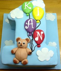 My 1 year old boy cake