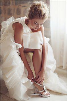 Vera Wang, Giuseppe Zanotti wedding shoes