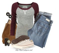 Untitled #189 by dlp22 on Polyvore featuring Superdry, AG Adriano Goldschmied and Converse
