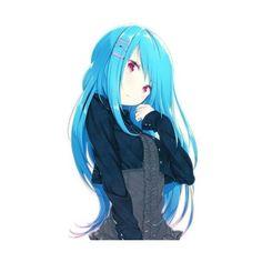 Ilustrador estilo Anime Zizi (zz22) ❤ liked on Polyvore featuring anime